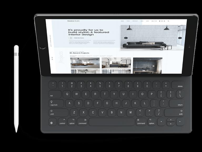 Stylish & featured landing page